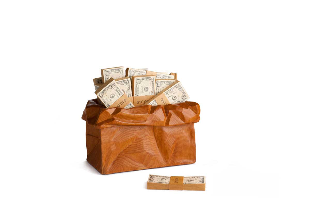 Money Bag | Renee Magroz